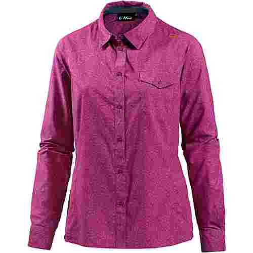 CMP Funktionsbluse Damen borgogna-hot pink