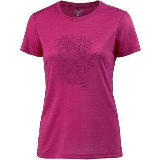 CMP T-Shirt Damen hot pink