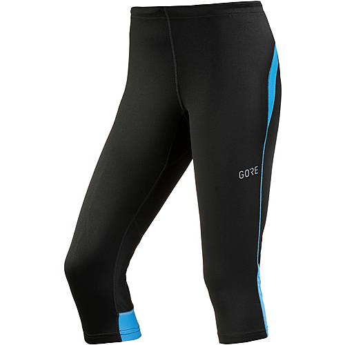 Gore R3 Lauftights Damen black-dynamic cyan