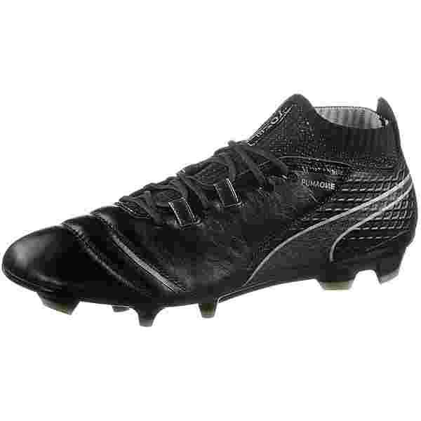 PUMA ONE 17.1 FG Fußballschuhe Herren Puma Black-Puma Black-Silver