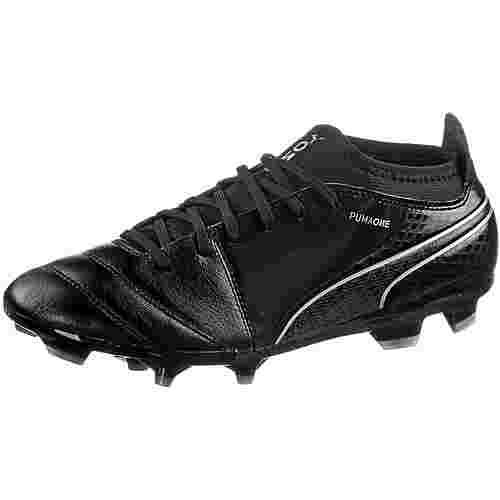 PUMA ONE 17.3 FG Fußballschuhe Herren Puma Black-Puma Black-Silver