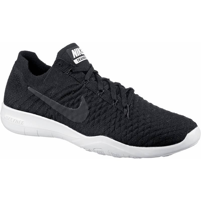Nike Free TR Flyknit 2 Fitnessschuhe Damen black-black-white im ... 118ba84e87