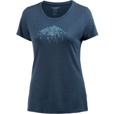 Mammut Alnasca V-Shirt Damen jay