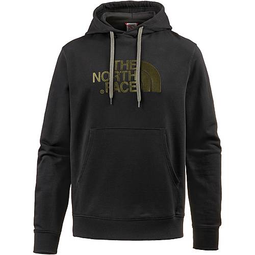 The North Face Light Drew Peak Hoodie Herren tnf black-new taupe green
