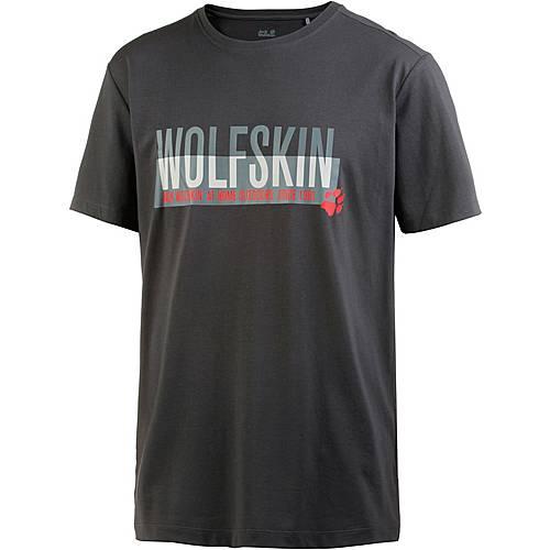 Jack Wolfskin Slogan T T-Shirt Herren phantom
