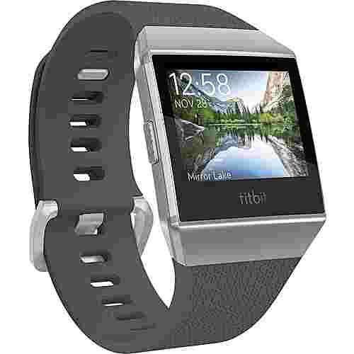 FitBit Ionic Smartwatch blue gray-white