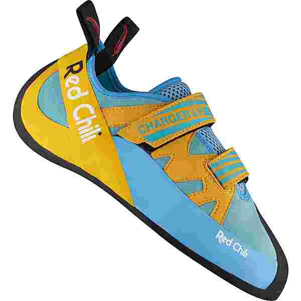 Red Chili Charger LV Kletterschuhe blau-gelb