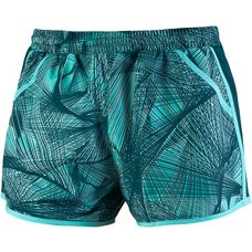 Under Armour Fly By Funktionsshorts Damen tropical tide-tourmaline teal-reflective