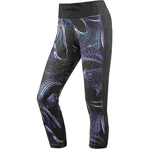 Nike Power Racer Lauftights Damen gunsmoke-black-reflective silver