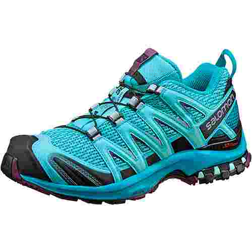 Salomon XA Pro 3D Multifunktionsschuhe Damen blue curacao-blue bird-dark purple