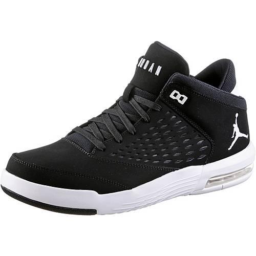 Nike JORDAN FLIGHT ORIGIN 4 Sneaker Herren black-white-gym red