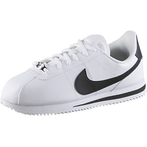 Nike Cortez Sneaker Kinder white-black