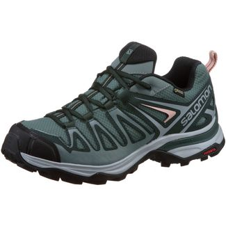 Salomon X ULTRA 3 PRIME GTX® Multifunktionsschuhe Damen balsam green-darkest spruce-coral a