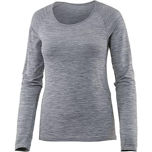 Nike Dri-Fit Knit Laufshirt Damen cool grey-htr