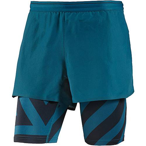 adidas Agravic Funktionsshorts Herren petrol night