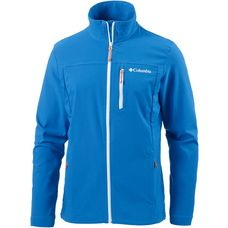 Columbia Heather Canyon Softshelljacke Herren super blue-white-heatwave