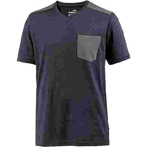 Kathmandu Federate V-Shirt Herren granite marle