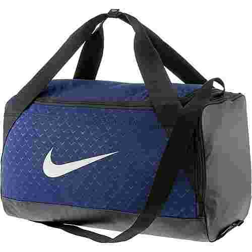 Nike Brasilia Duffel small Sporttasche binary-blue-black-white