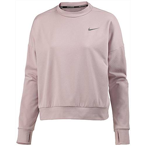 Nike Therma Sphere Element Laufshirt Damen particle rose-reflective silver