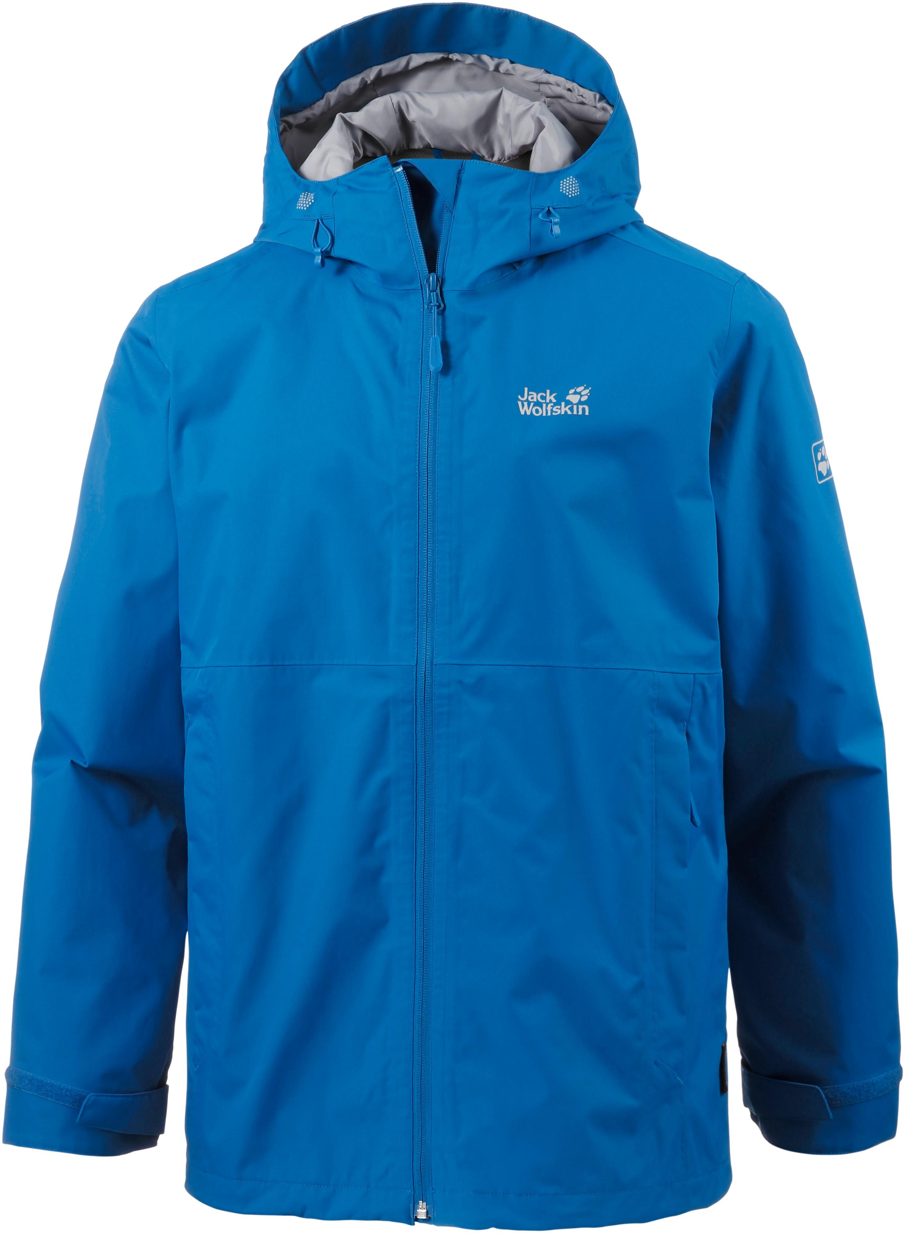 purchase cheap c01be 07fb7 Jack Wolfskin Arroyo Regenjacke Herren electric blue im Online Shop von  SportScheck kaufen