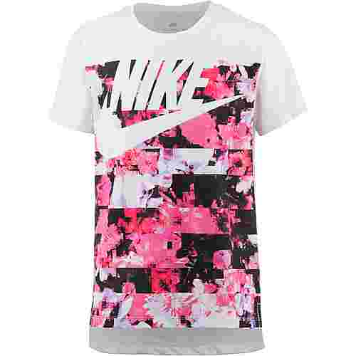 Nike NSW T-Shirt Kinder white-light-thistle