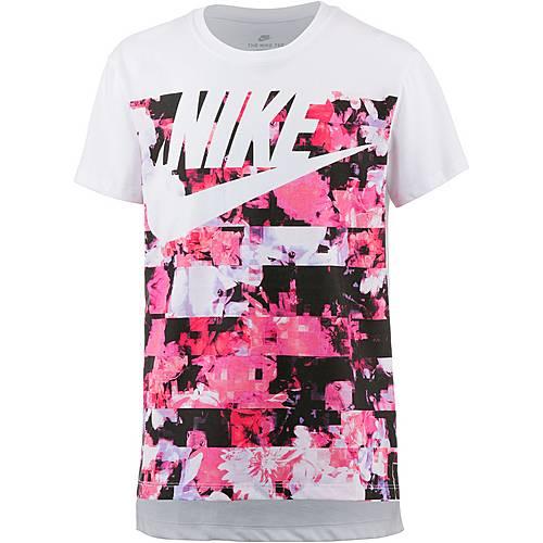 Nike NSW T-Shirt Kinder white-light-thistle
