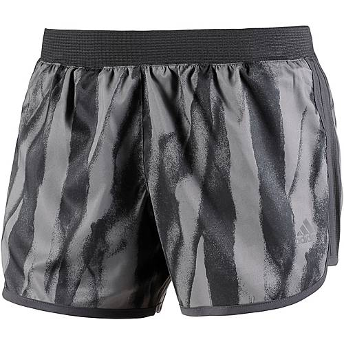 adidas M10 Laufshorts Damen carbon