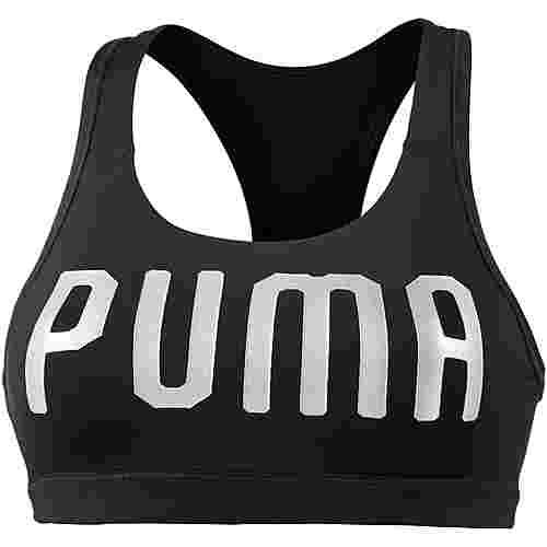 PUMA PWRSHAPE Forever Sport-BH Damen puma black-silver puma