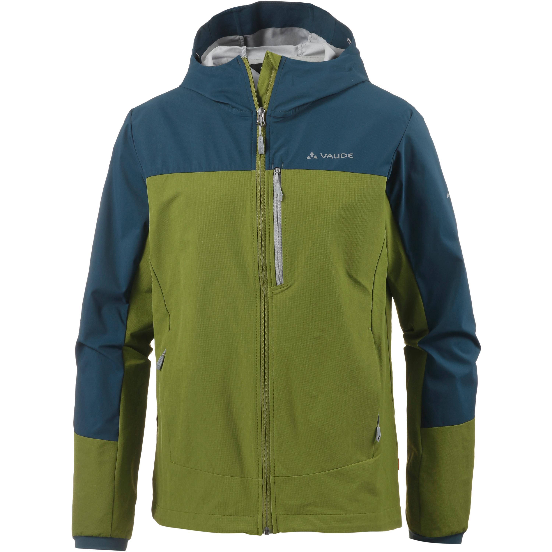 Vaude - Skarvan S Jacket - Softshelljacke Gr L;M;S;XL;XXL oliv/blau;blau;schwarz holly green