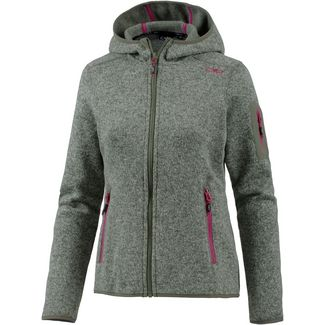 CMP Strickjacke Damen avocado-salvia