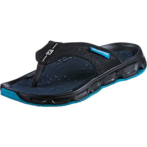 Salomon RX BREAK Zehensandalen Herren black-black-hawaiian surf