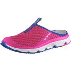 Salomon RX SLIDE 3.0 Slipper Damen pink yarrow-white-surf the web