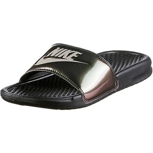 Nike BENASSI JDI Sandalen Damen black-cobblestone
