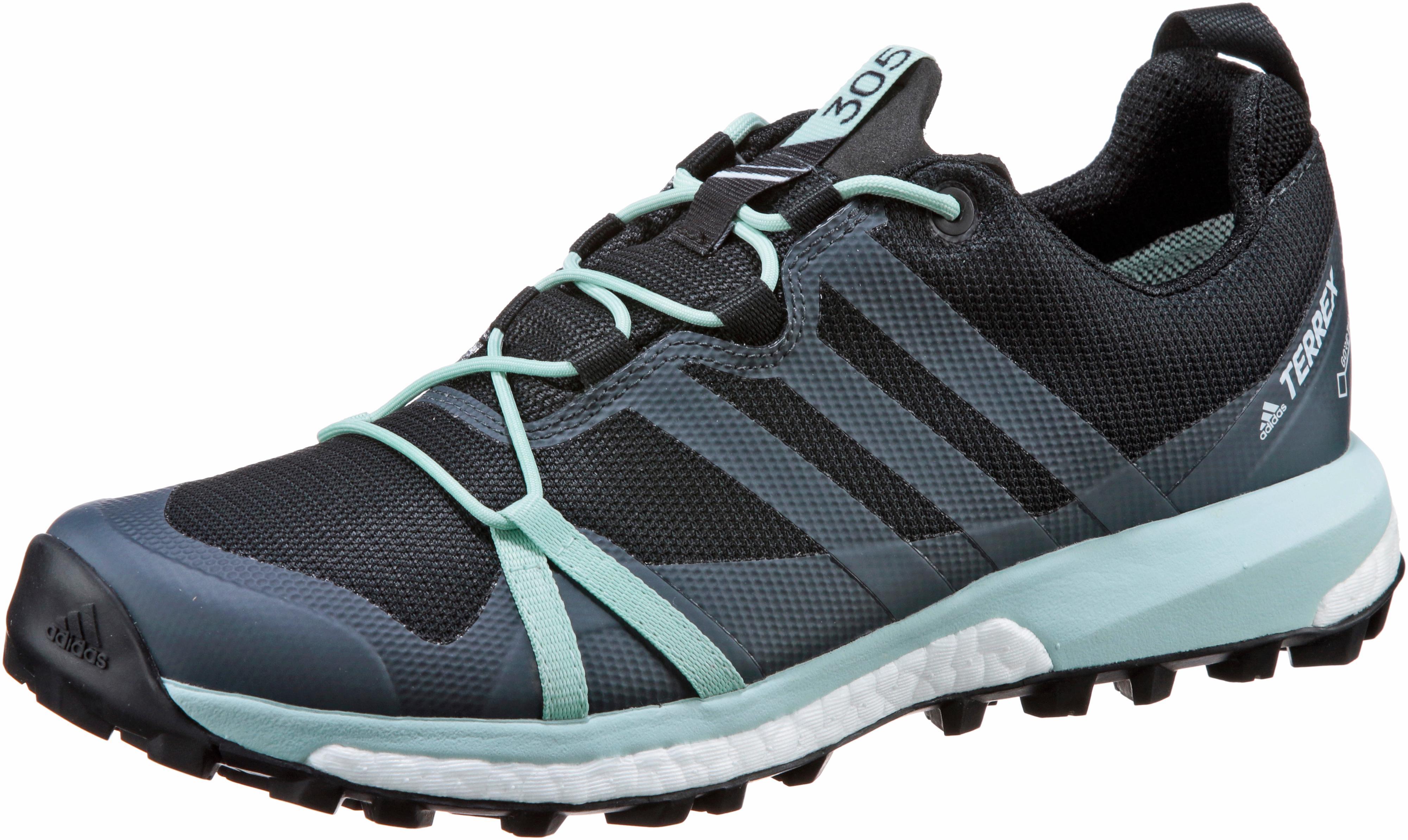 Adidas Agravic GTX Mountain Running Schuhe Damen carbon-grau three-ash Grün Grün Grün im Online Shop von SportScheck kaufen Gute Qualität beliebte Schuhe fa4be4