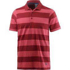 Joy Benito Poloshirt Herren firebrick stripes