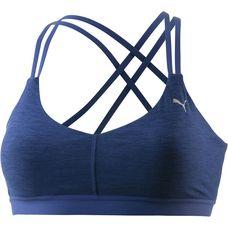 PUMA Yogini Lux Sport-BH Damen Blue Depths Heather