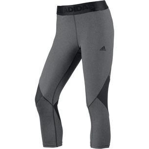 adidas Alphaskin Sport Tights Damen dark grey heather