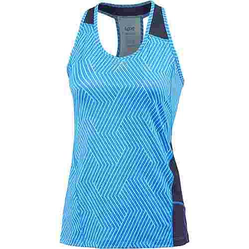 GORE® WEAR R3 Optiline Funktionstank Damen print dynamic cyan-marine blue