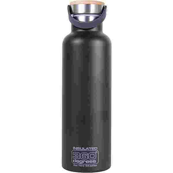 360° degrees Vacuum insulated Isolierflasche black