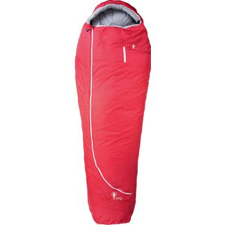 Grüezi Bag Biopod Wolle Zero XL Kunstfaserschlafsack tango red