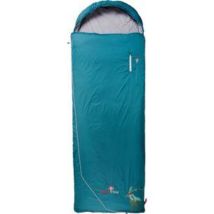 Grüezi Bag Biopod Wolle Goas Comfort Kunstfaserschlafsack dark petrol