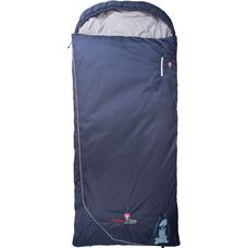 Grüezi Bag Biopod Wolle Murmeltier Comfort XXL Kunstfaserschlafsack night blue