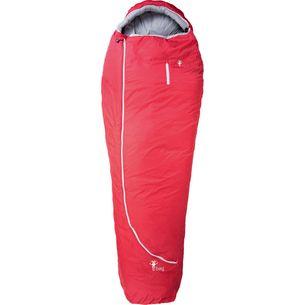 Grüezi Bag Biopod Wolle Zero Kunstfaserschlafsack tango red