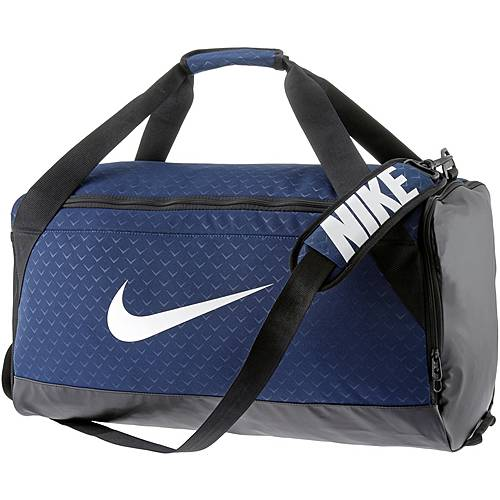 Nike Brasilia Duffel medium Sporttasche binary-blue-black-white
