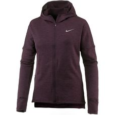 Nike Therma Sphere Element Laufhoodie Damen port wine-htr-port wine