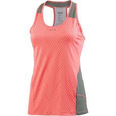 GORE® WEAR R3 Optiline Funktionstank Damen print lumi orange/castor grey