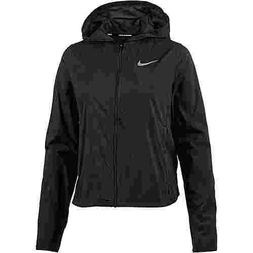Nike Shield Convertible Laufjacke Damen black-reflective silver