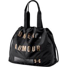 Under Armour Favorite Graphic Sporttasche Damen black-metallic iron-metallic victory gold