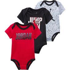 Nike Jordan Strampler Kinder black
