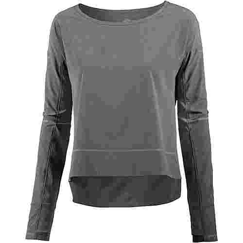 ASICS LITE SHOW Laufshirt Damen dark grey heather